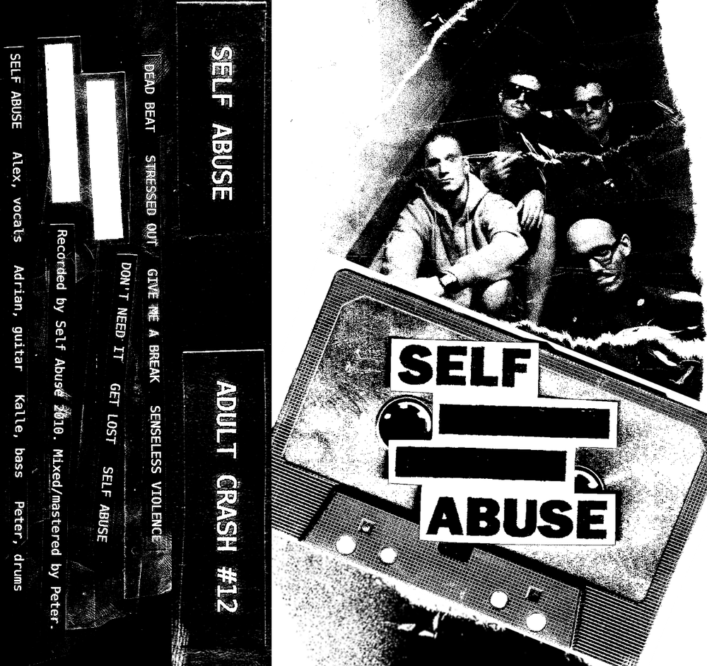 "Image of SELF ABUSE ""s/t"" MC"