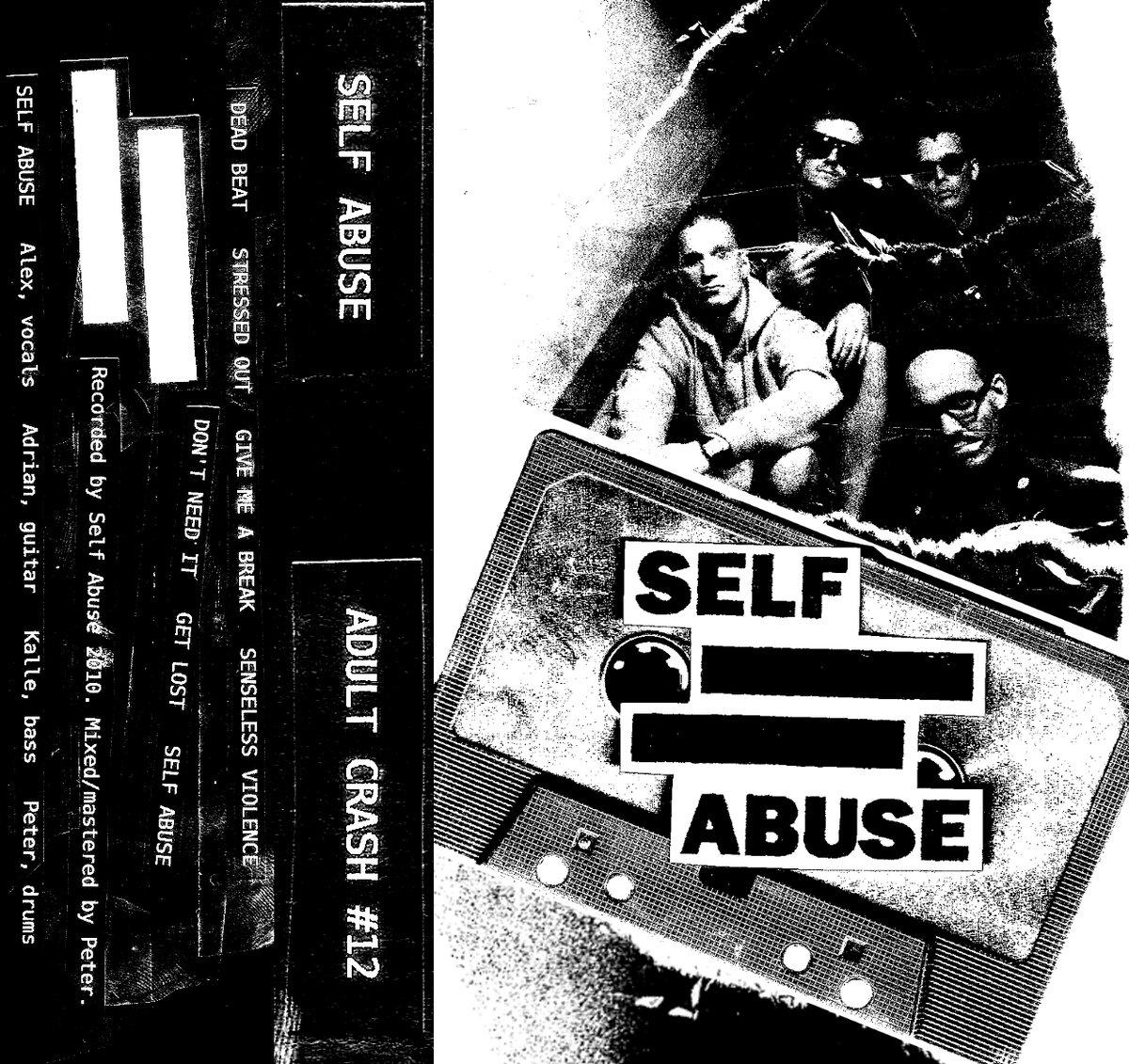 "Image of SELF ABUSE ""s/t"" MC"
