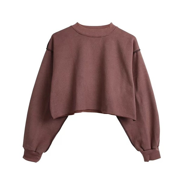 Image of THE COMFY CREW NECK COFFEE