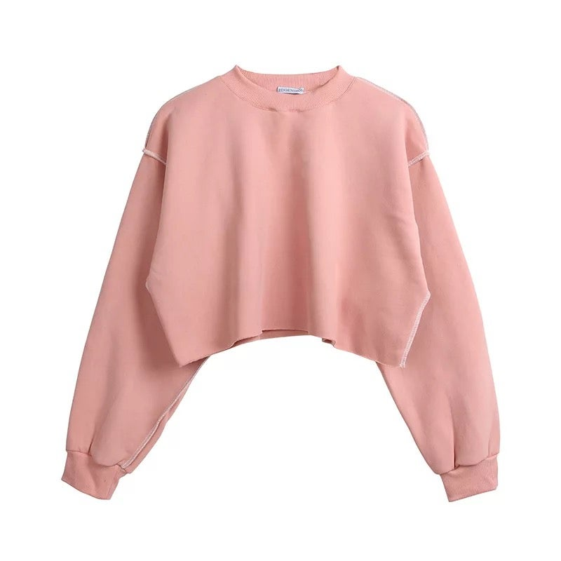 Image of THE COMFY CREW NECK PINK