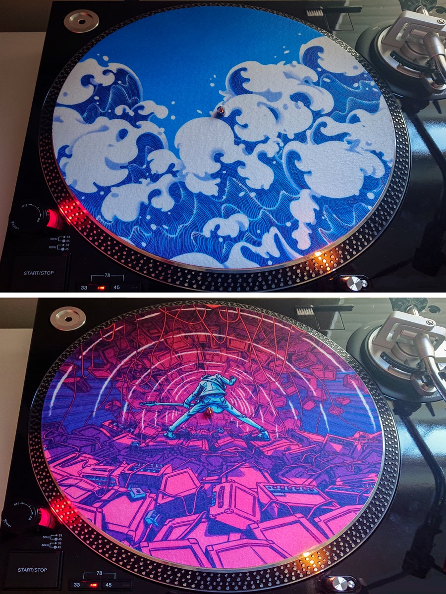 Image of Double Sided Turntable Slipmat