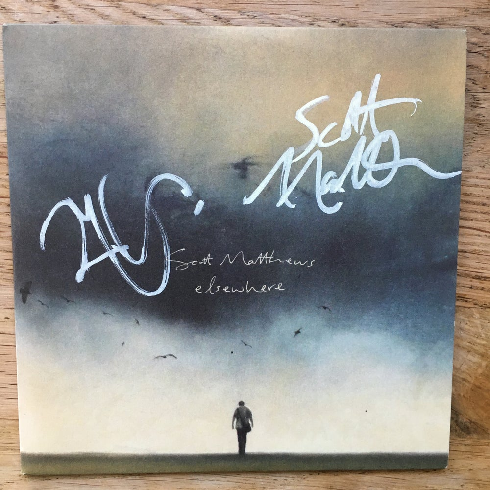 Image of Elsewhere album sampler - Rare signed by Robert Plant & Scott Matthews