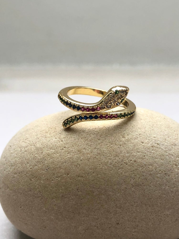 Image of Snake Ring Rainbow