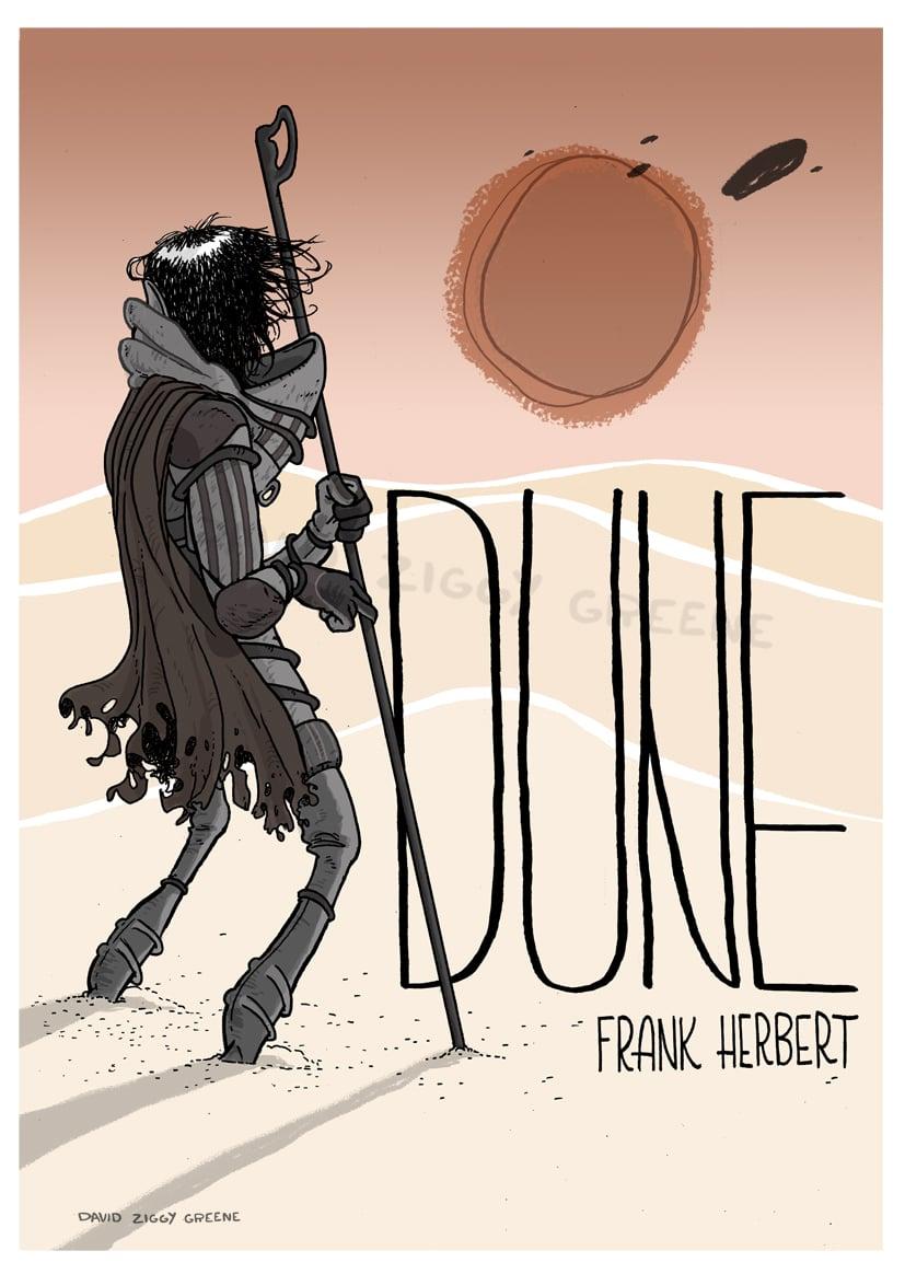 Dune print