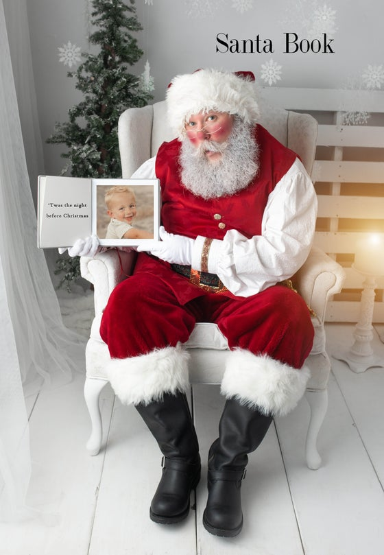 Image of Santa with Book