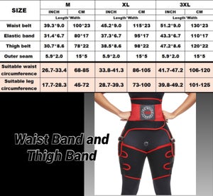 Image of DIRL Sweatbands and Waist Trainer