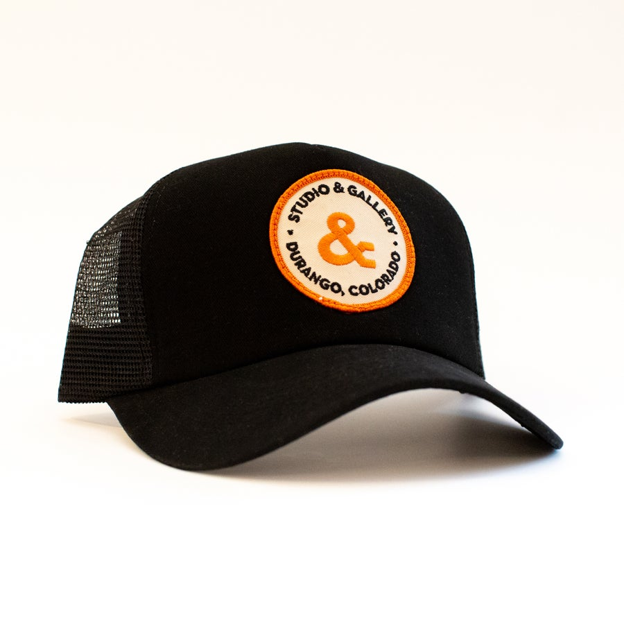 Image of Studio & Trucker Hat and Studio & Patch