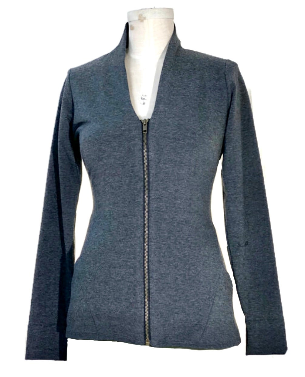 Image of Euclidean jacket in charcoal