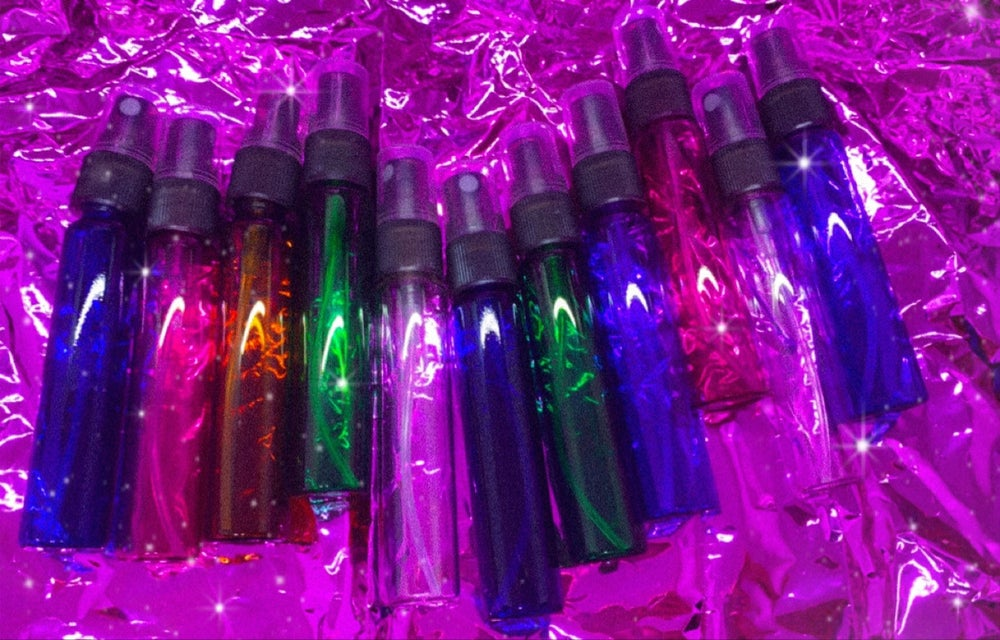Image of cotton candy scented sprays