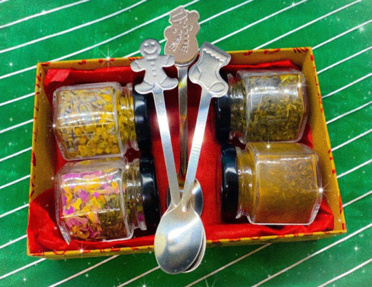 Image of herbal tea sampler sets