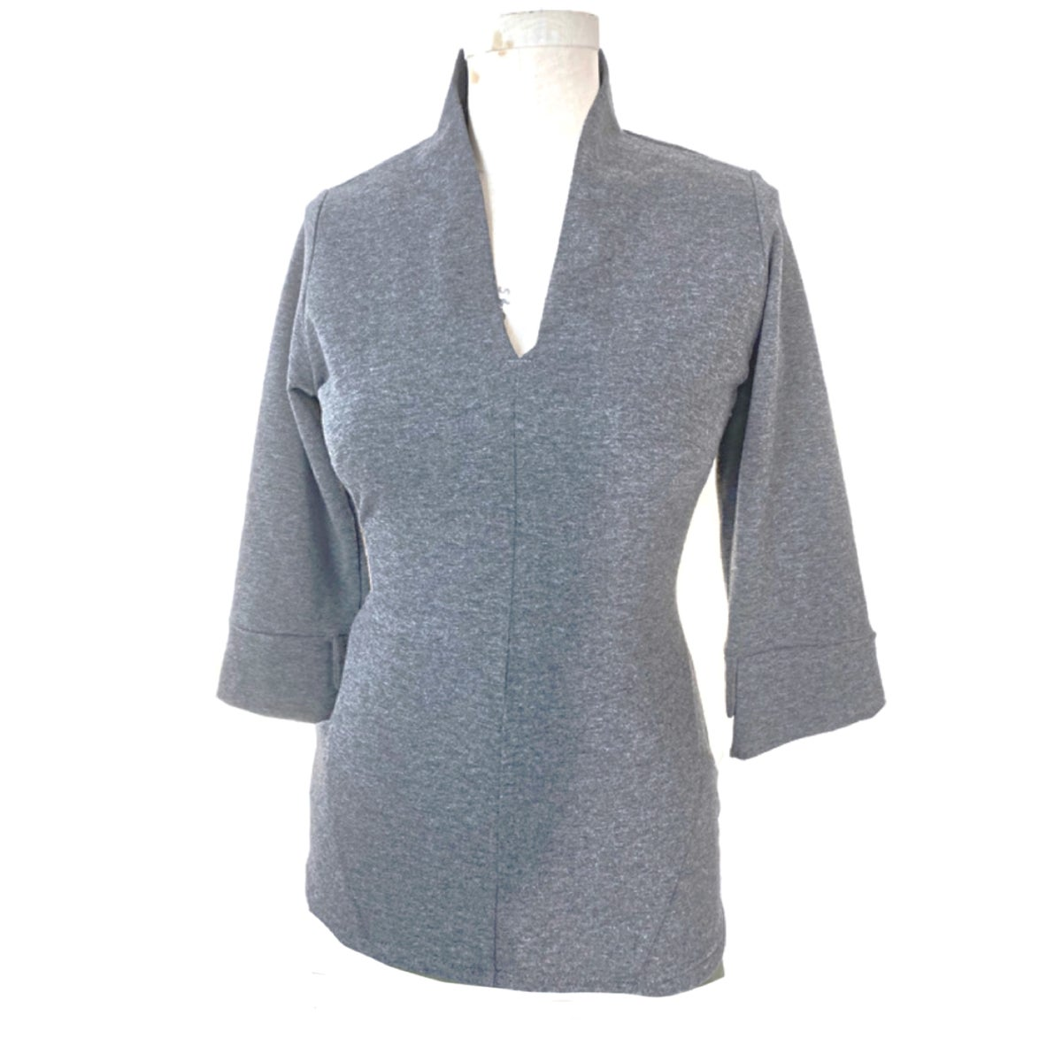 Image of Euclidean top in charcoal