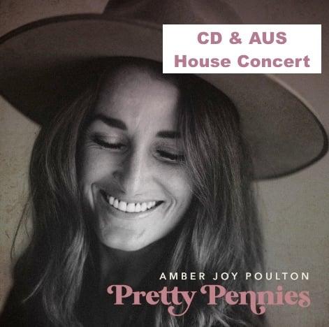 """Image of AUS House Concert """"Pretty Pennies"""" (+ secret song)"""
