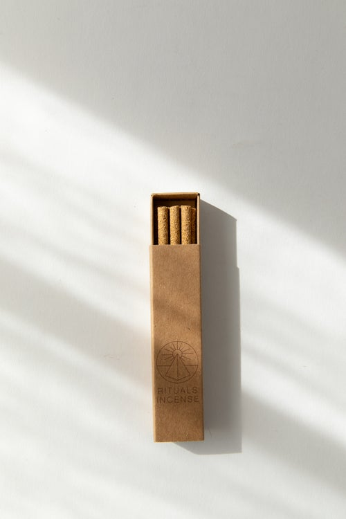 Image of Mini Terracotta Fish Incense Gift Set