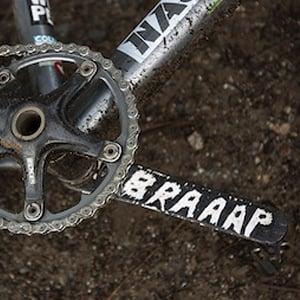 Image of Braaap sticker