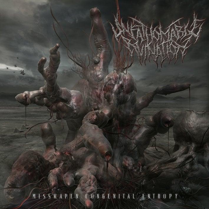 Image of Unfathomable Ruination - Misshapen Congenital Entropy CD