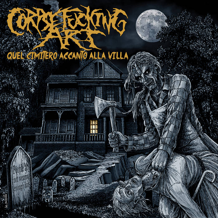 Image of Corpsefucking Art - Quel Cimitero Accanto Alla Villa CD