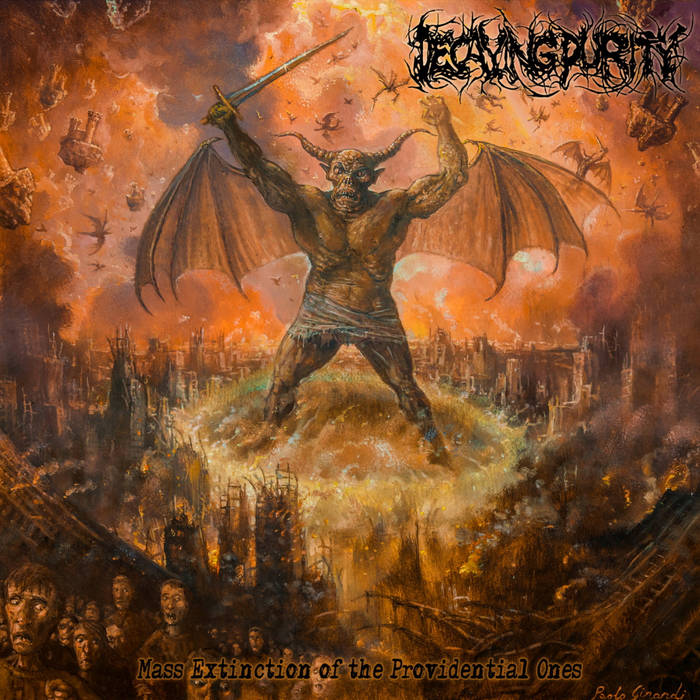 Image of Decaying Purity - Mass Extinction Of The Provedential Ones CD