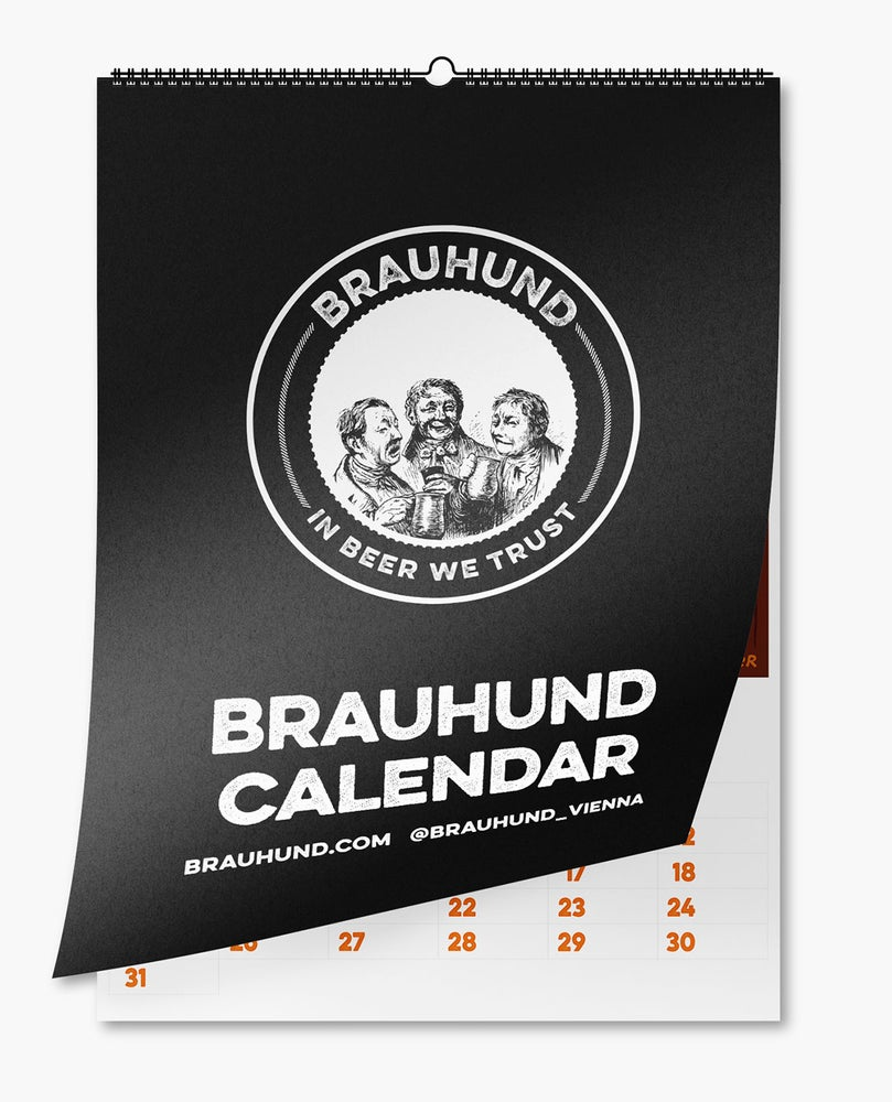 Image of In Beer We Trust Calendar