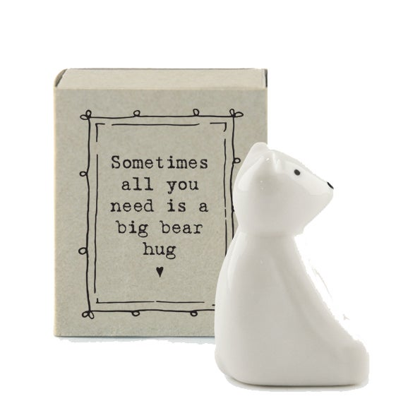 Image of East of India Matchbox - Bear Hug
