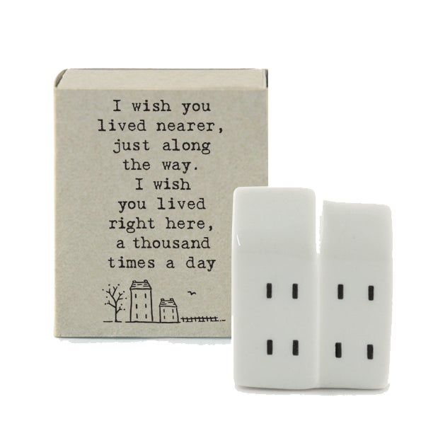 Image of East of India Matchbox - I wish you lived nearer