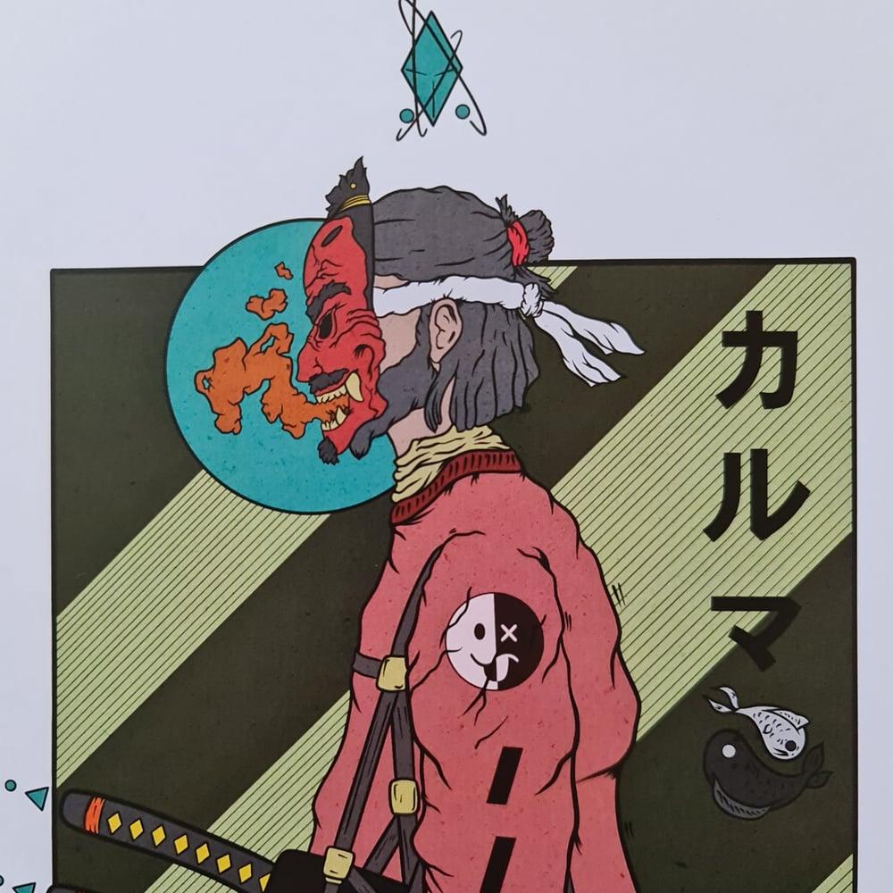 Image of Tengu Mask Warrior