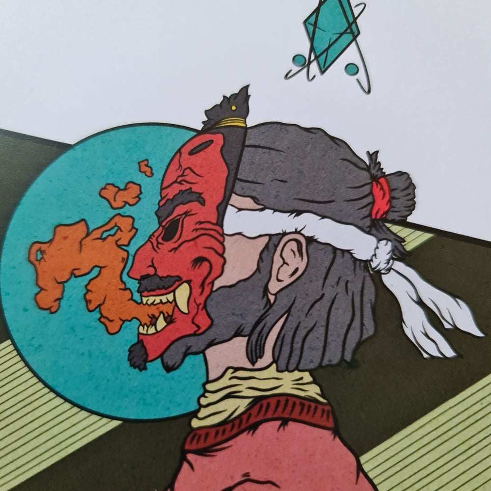 Tengu Mask Warrior