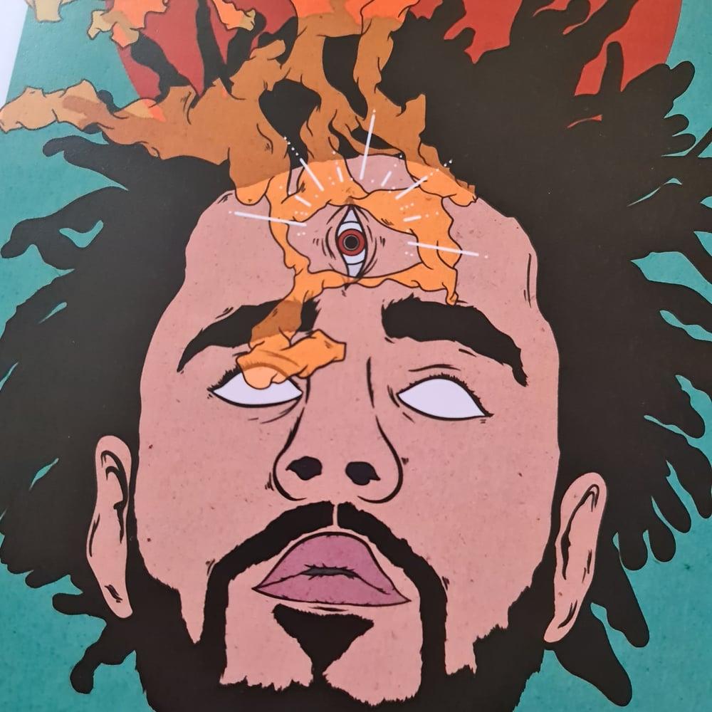 Image of J Cole Print