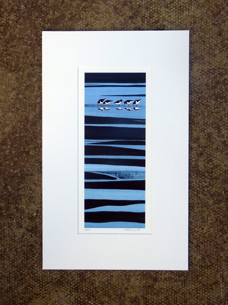 Image of Oystercatchers Limited Edition Print