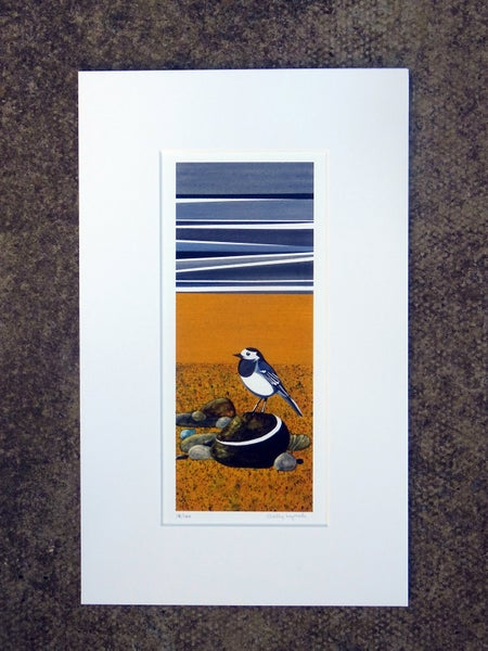 Image of Pied Wagtail Limited Edition Print