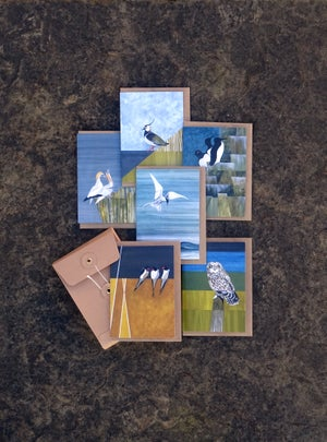 Image of Set of 6 Bird Cards