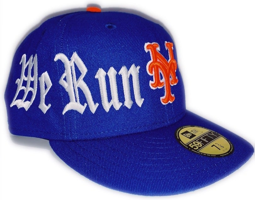 Image of KALVIARI WE RUN NY 59FIFTY FITTED HAT (SHEA EDITION)
