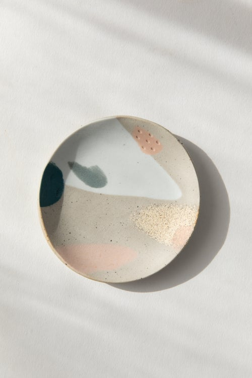 Image of Tropical Ocean - Jewelry Dish