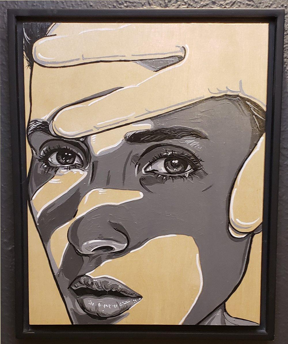 She Block - Original Painting
