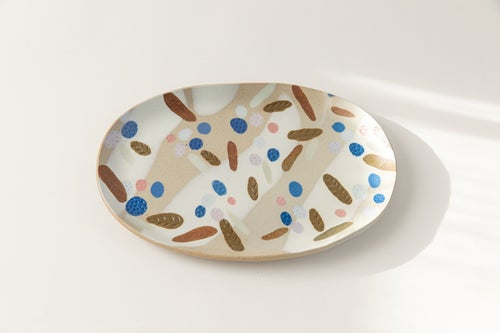 Image of Berry Tart - X-Large Porcelain Inlay Serving Platter