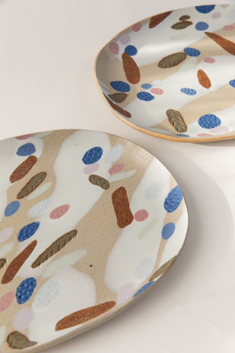 Image of Berry Tart - X-Large Porcelain Inlay Serving Platter