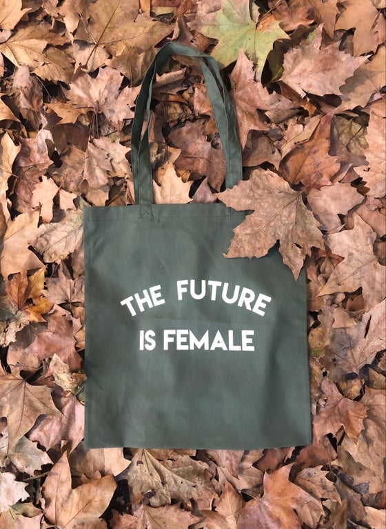 Image of Totebag FUTURE verda