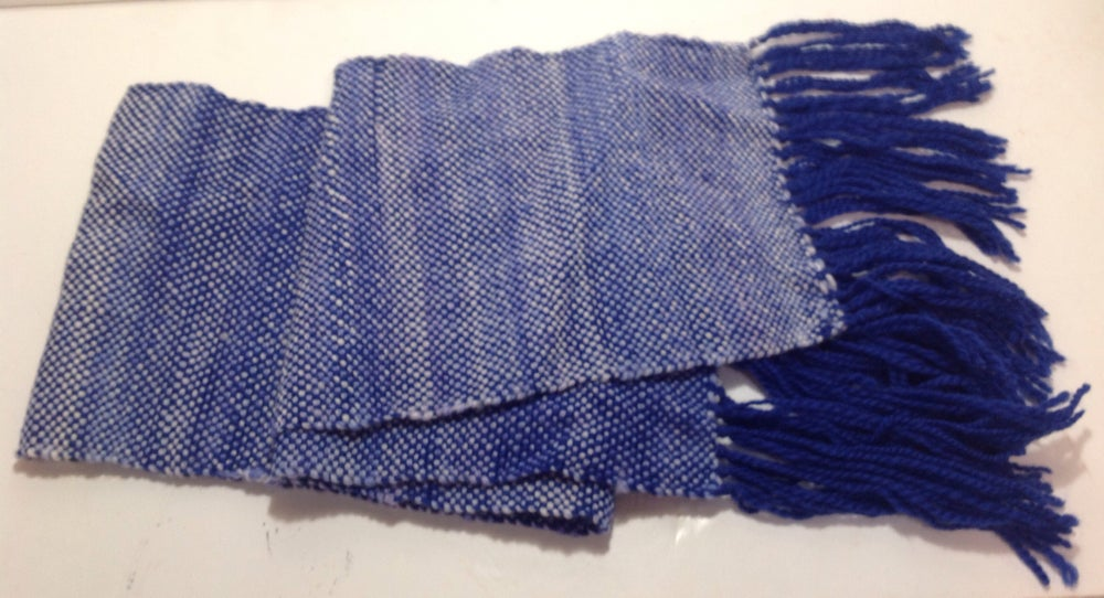 Image of Handmade Woven Merino Scarf, Neck Scarf, Winter Scarf, Woman Scarf, Men's Scarf