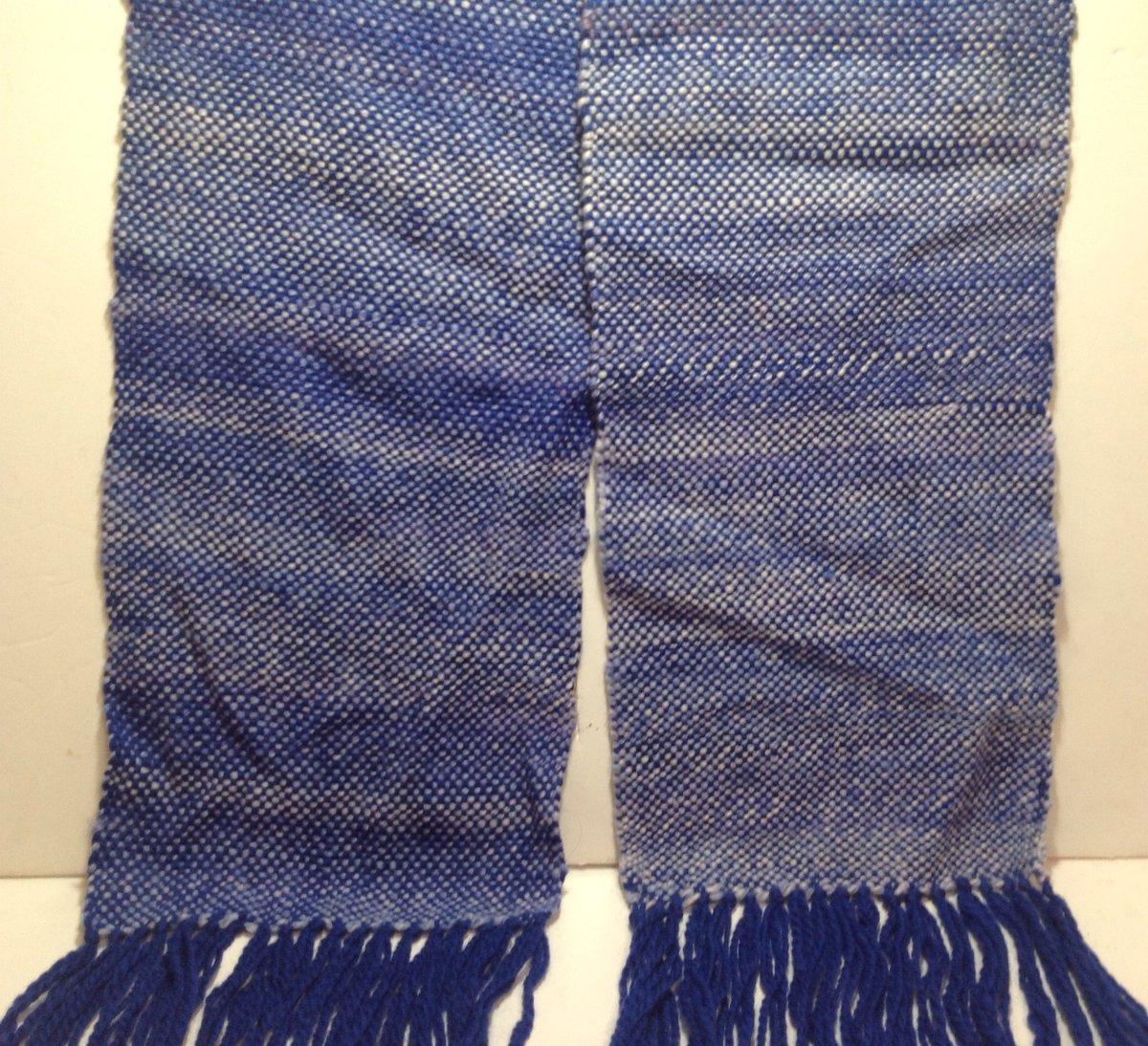 Image of Handmade Woven Merino Scarf, Neck Scarf, Winter Scarf, Woman Scarf, Men's Scarf