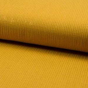 Image of Barrette double gaze moutarde & lurex