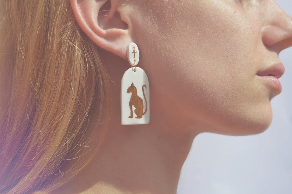Image of Bast Earrings