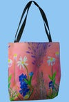 Flower Tote (Not adjustable strap)