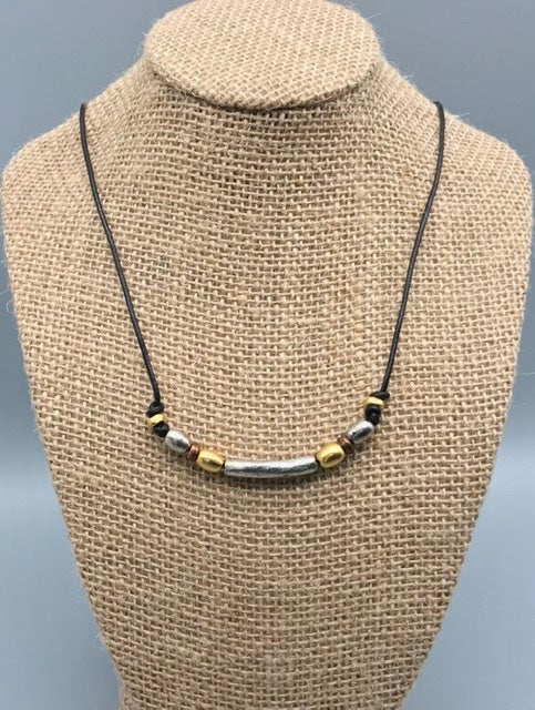 Image of Mixed Metals Necklace