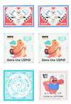 Save the USPS stickers (Half off)