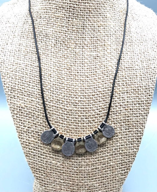 Image of Hammered Coins Necklace