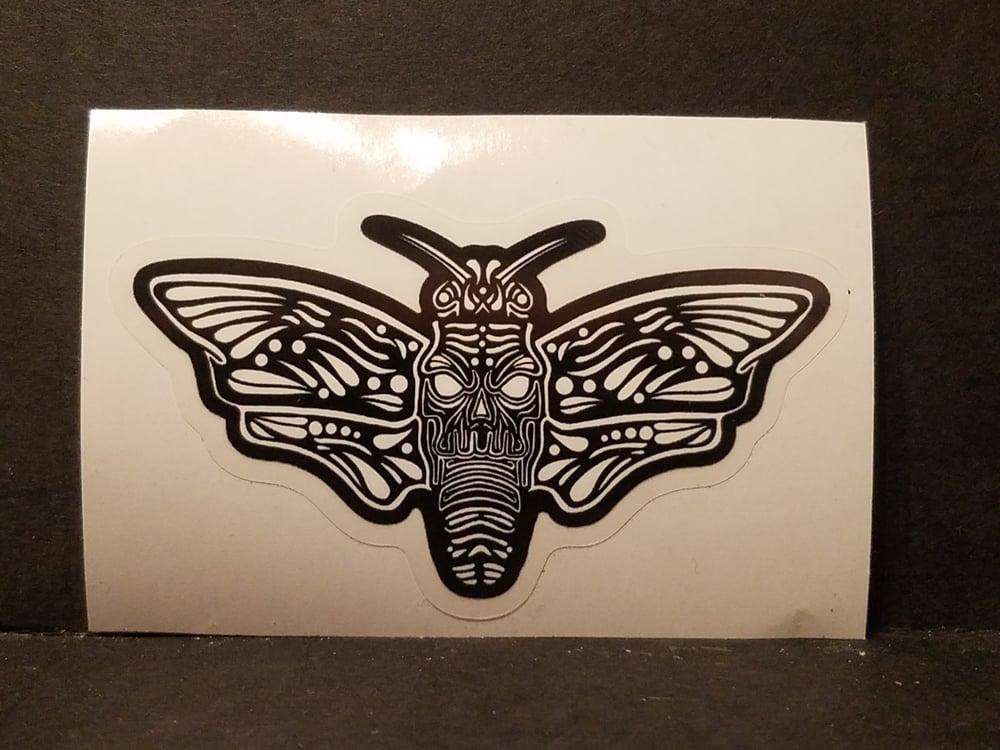 """""""Death Moth"""" Enamel Pins (1.5"""" x 3"""")"""