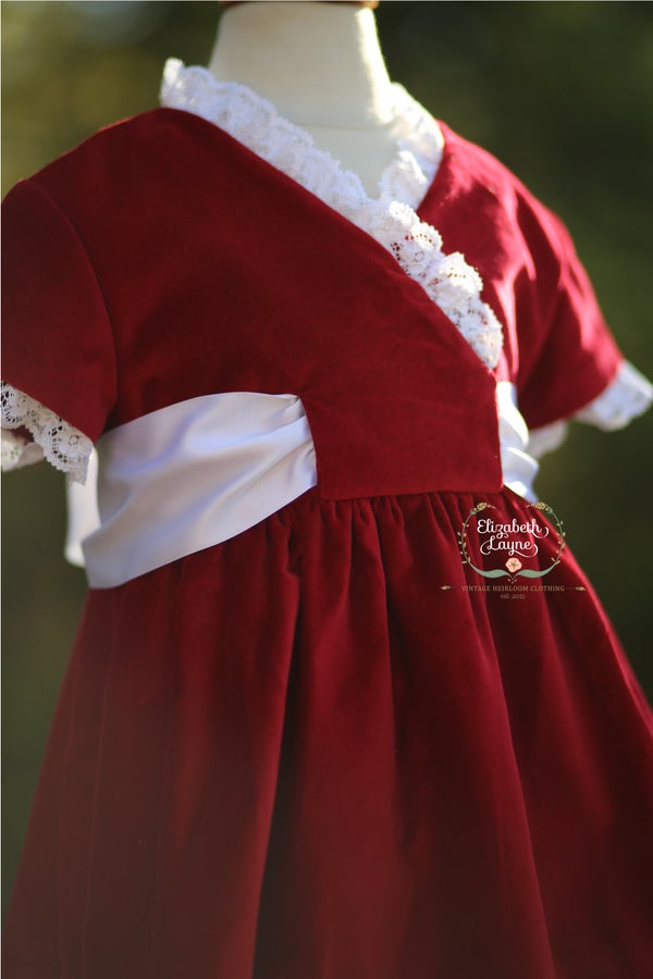 Image of Scarlet Gala Bow Dress