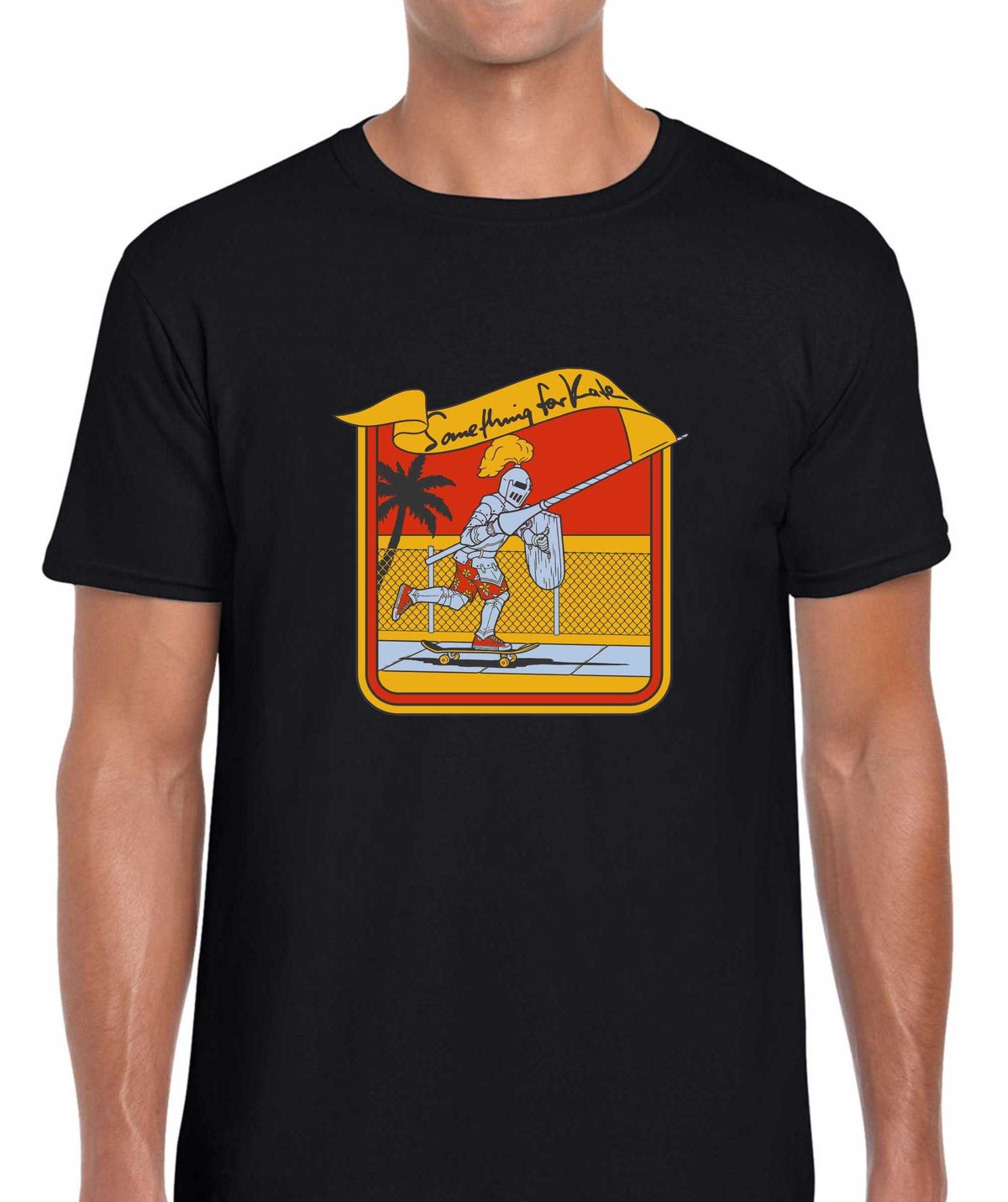Image of Something for Kate Jousting skater t-shirt -adults & kids sizes!