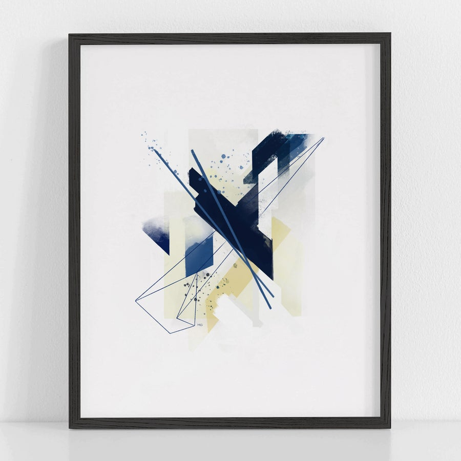 Image of Blue Shift Art Print