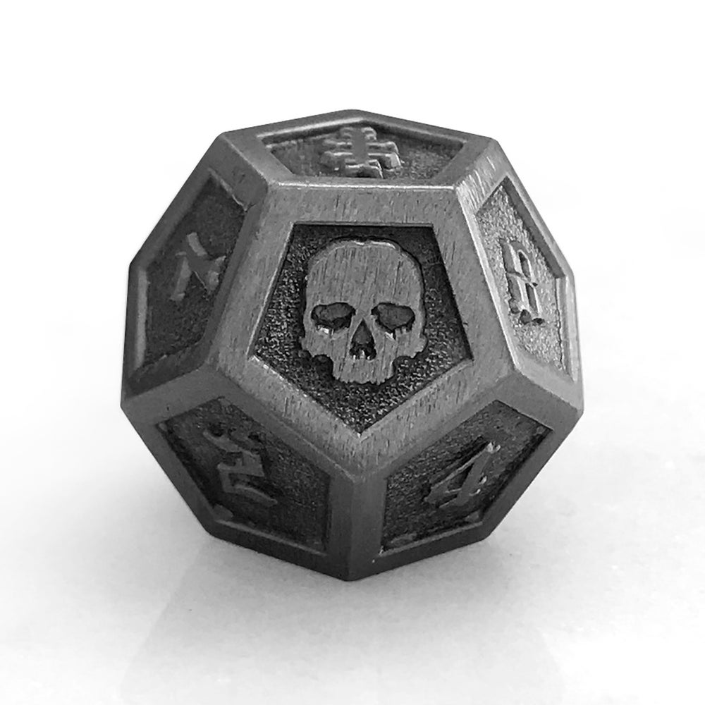 Image of Antique Silver Die