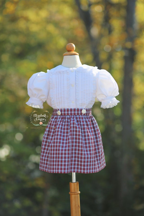 Image of Tilly Tartan Dress